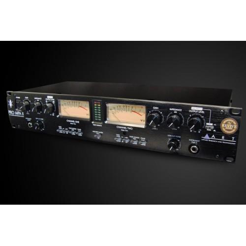 modified art pro mpa ii dual channel tube mic pre amplifier new in box. Black Bedroom Furniture Sets. Home Design Ideas
