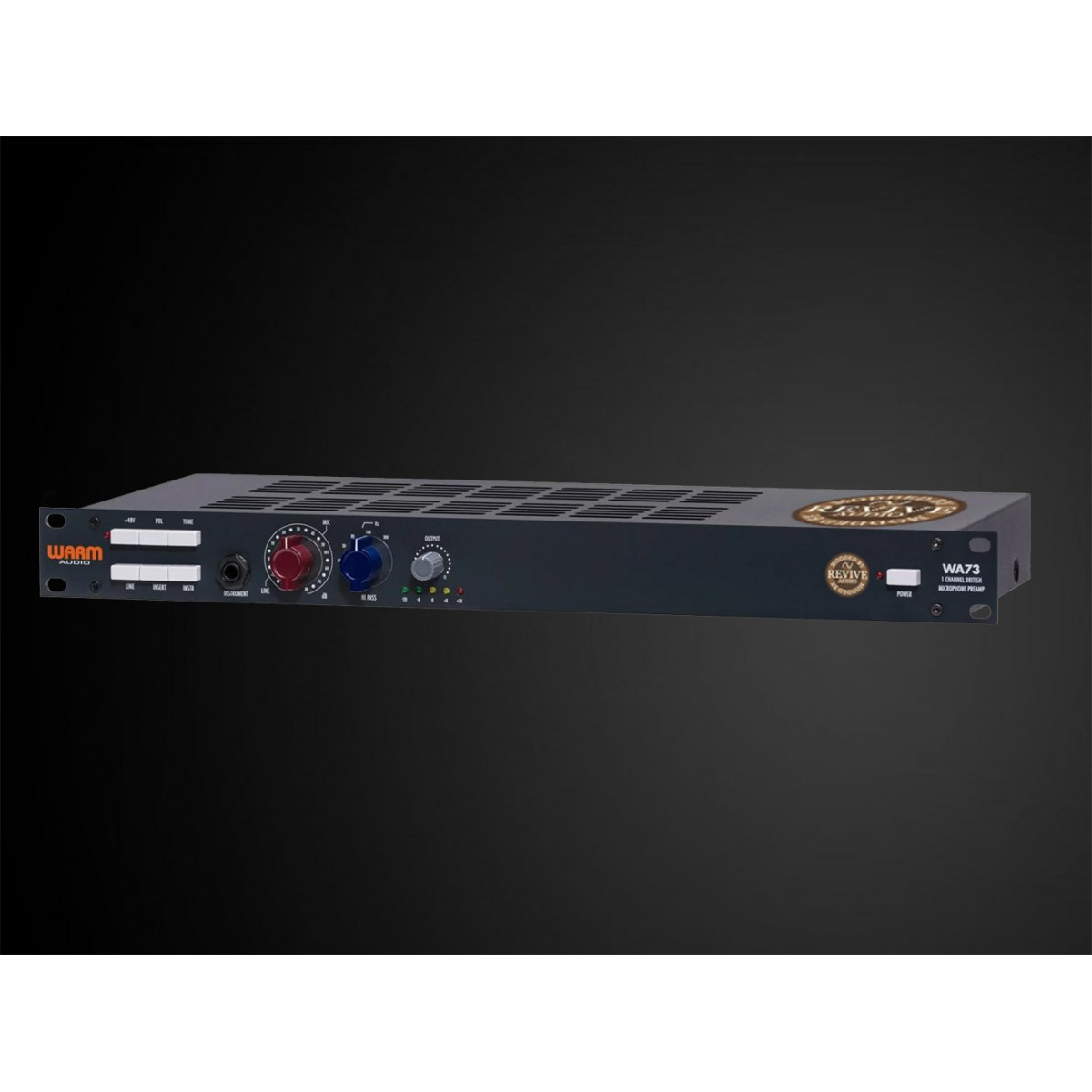 Mail In Modification Service Warm Audio Wa73 Preamp Lowvoltagemicrophonepreamp Preamplifier Audiocircuit